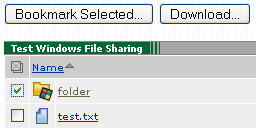 Windows File Sharing